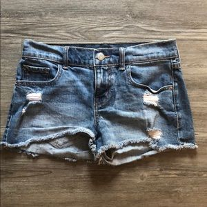Jean Cut Off Shorts